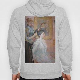 La Coiffure by Berthe Morisot Hoody