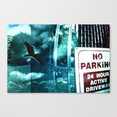 No Flying  Canvas Print