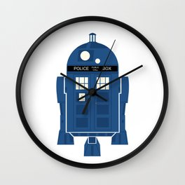 R2-TARDIS Wall Clock