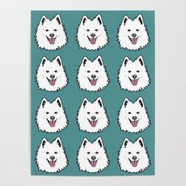 American Eskimo Poster