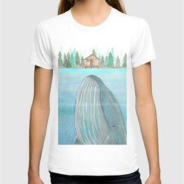 She knows he's there T-shirt