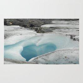 Glacier Heart Rug