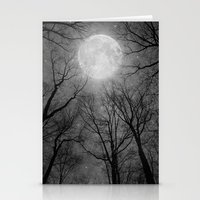 tolkien Stationery Cards featuring May It Be A Light (Dark Forest Moon) by soaring anchor designs