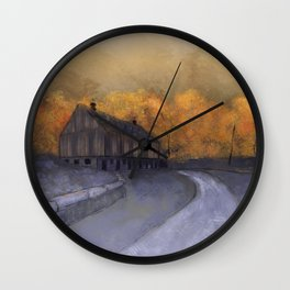 At Just Dawn Wall Clock