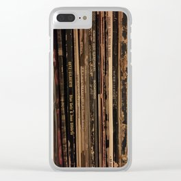 Music is Love Clear iPhone Case