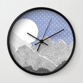 Paper Sky Wall Clock