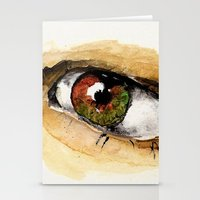 study Stationery Cards featuring Study by Kendall Brier