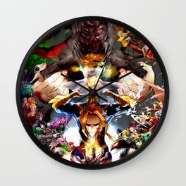 Boku no Hero Academia Wall Clock