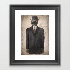 Son of Photographer Framed Art Print