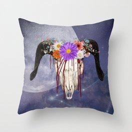 Capricorn Killer Throw Pillow
