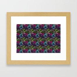 pattern_colors Framed Art Print