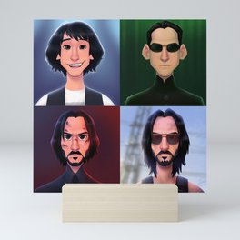 Breathtaking Roles Mini Art Print
