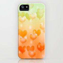 sweethearts orange iPhone Case