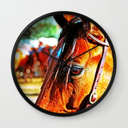 Horse-1-Color Wall Clock