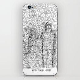 Bonjour Monsieur Courbet iPhone Skin