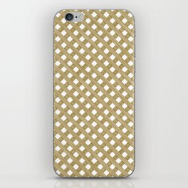 Wood Lattice iPhone Skin