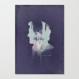 Your head Canvas Print