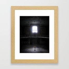 Abandoned house Framed Art Print