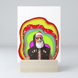 Santa Got This Mini Art Print