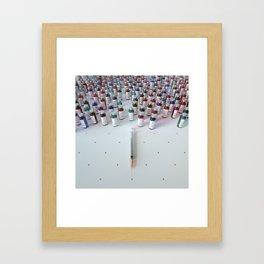 """Daily medicine"" Framed Art Print"
