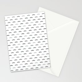 Grey Mustache Stationery Cards