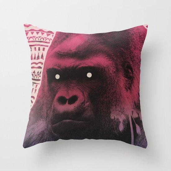 Demon Days Throw Pillow
