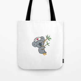 Don't Worry I'm A Koalified Nurse Tote Bag