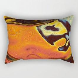 Toxic Frog Rectangular Pillow