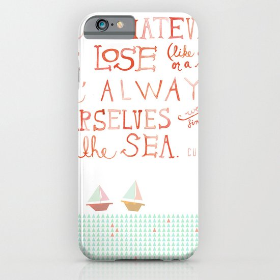 for whatever we lose. .. iPhone & iPod Case