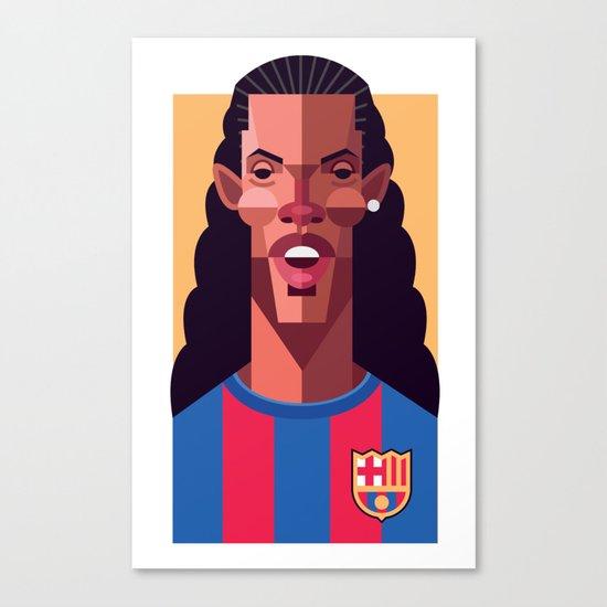 R10 | Blaugrana Canvas Print