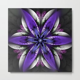 Exotic fantasy flower Metal Print