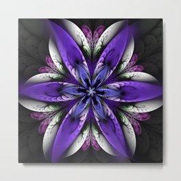 Exotic fantasy flower Metal Print