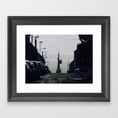 King Kong Rouen Framed Art Print