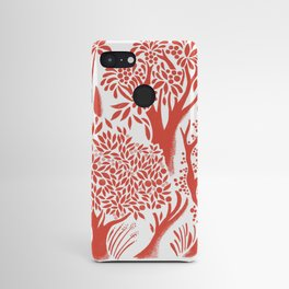 Red Forest Android Case