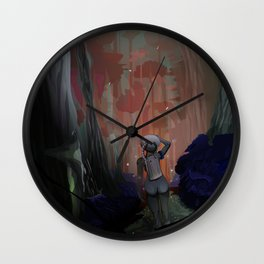 Lost [Swamp] Wall Clock