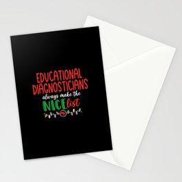 Christmas Educational Diagnostician Stationery Cards