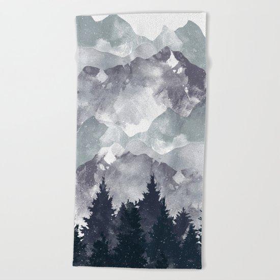 Winter Tale Beach Towel