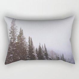 Misty Pines Rectangular Pillow