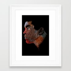 Mohamed Ali Color Framed Art Print
