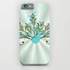Just a Peacock iPhone 6s Slim Case