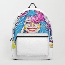 Janet Jackson (Creative Illustration Art) Backpack