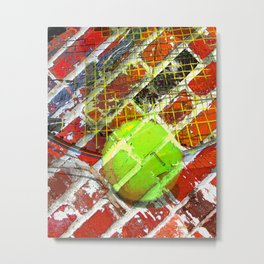 Modern Tennis art 5 Metal Print