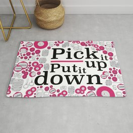 Pick It Up! Rug