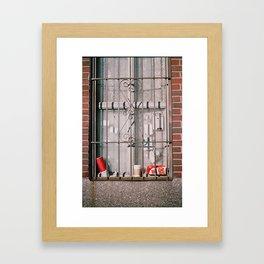 east village, nyc Framed Art Print