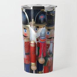 Colorful christmas nutcrackers Travel Mug