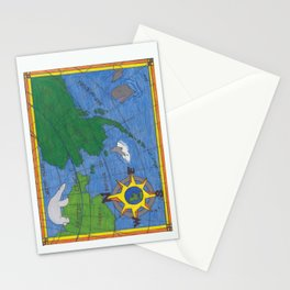 Northern Explorer Stationery Cards