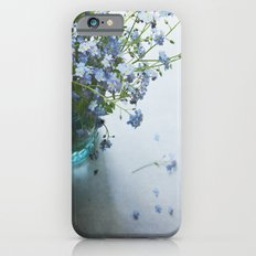 Forget-me-not bouquet in Blue jar Slim Case iPhone 6s