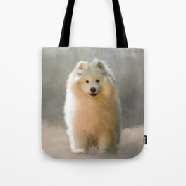 More Snow Please Tote Bag