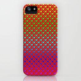 Regenbogenherzen - Rainbow hearts iPhone Case