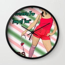 Mars Hates Christmas - Jingle Presents Wall Clock